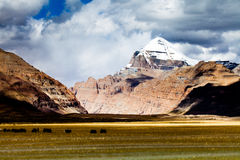 Pico de Gangren Boqi Foto de Stock