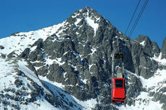 Pico de Gerlach, slovakia Fotografia de Stock