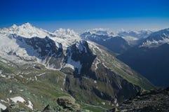 Pico de Gran Paradiso em Itália Apls Imagens de Stock Royalty Free