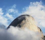Pico de Halfdome Imagem de Stock Royalty Free