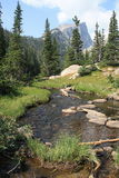Pico de Haliett, Rocky Mountain National Park 11 Imagen de archivo libre de regalías