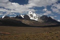 Pico de Huana Potosi imagen de archivo