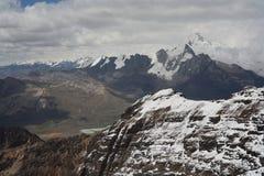 Pico de Huana Potosi imagenes de archivo