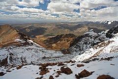 Pico de Huana Potosi fotografía de archivo