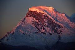 Pico de Huascaran Fotografía de archivo