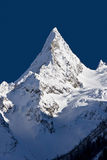 Pico de Ine ?aucasus Rússia Fotos de Stock Royalty Free