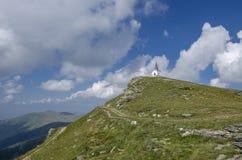 Pico de Kajmakcalan, Macedonia - primer campo de batalla de la guerra mundial Imagenes de archivo