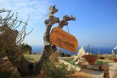 Pico de Kamenjak, montanha de Velebit Imagens de Stock Royalty Free