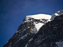 Pico de Kanchengayo Imagenes de archivo
