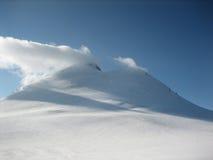 Pico de Kazbegi Foto de archivo