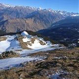 Pico de Kedarkantha fotos de stock royalty free