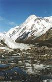 Pico de Khan-Tengri Imagen de archivo libre de regalías