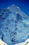 Pico de Khan Tengri (los 7010m) Fotos de archivo libres de regalías