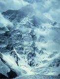 Pico de Khan Tengri (los 7010m) Foto de archivo