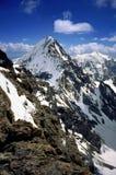 Pico de Koenigspitze, cumes orientais Imagem de Stock Royalty Free