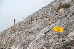 Pico de Koncheto en la montaña Pirin Foto de archivo libre de regalías