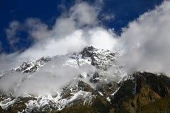 Pico de Kongur Fotos de Stock