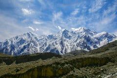 Pico de Kongur Foto de Stock Royalty Free