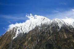 Pico de Kongur Imagem de Stock