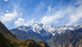 Pico de Kongur Imagens de Stock Royalty Free
