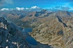 Pico de Koprovsky Foto de Stock