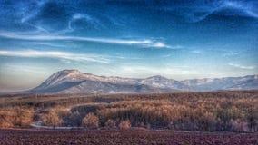 Pico de Kotlya Foto de archivo libre de regalías
