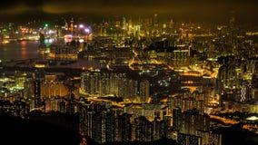 Pico de Kowloon, Hong Kong fotografia de stock