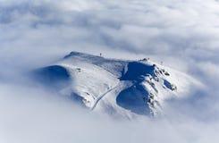 Pico de la colina de Gudauri Fotografía de archivo