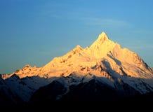 Pico de la diosa Imagen de archivo libre de regalías