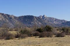 Pico de la Miel (crête de Honet) Photos libres de droits