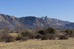 Pico de la Miel (crête de Honet) Image stock