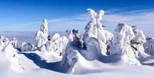 Pico de la montaña Imagen de archivo