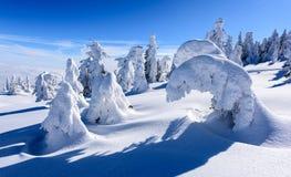 Pico de la montaña Imágenes de archivo libres de regalías