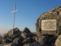 Pico de la travesía de Watzmann 1r Fotografía de archivo