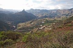 Pico de Las Nievas Stock Image