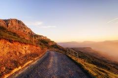 Pico de Lekanda em Gorbea Fotografia de Stock Royalty Free
