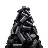 Pico de los bidones de aceite Imagen de archivo libre de regalías