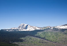 Pico de los cielos Imagen de archivo libre de regalías