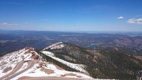 Pico de los lucios de Colorado Imagen de archivo