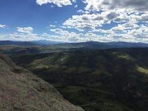 Pico de los lucios de Horsetooth Fort Collins imagen de archivo