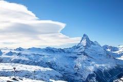 Pico de Matterhorn Imágenes de archivo libres de regalías