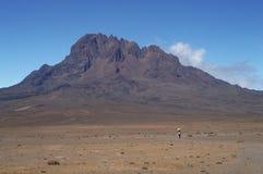 Pico de Mawenzi Imagen de archivo libre de regalías