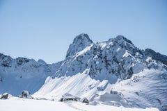 Pico de MiÄ™guszowiecki Foto de archivo libre de regalías