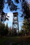 Pico de Mogielica - Beskid Wyspowy, Polonia Imágenes de archivo libres de regalías