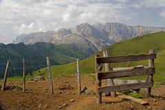Pico de Molignon Foto de archivo
