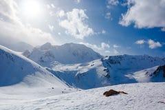 Pico de Molodezhniy Imagenes de archivo