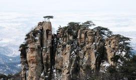 Pico de montaña Foto de archivo