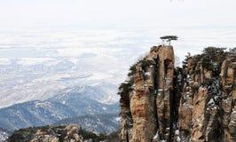 Pico de montaña Fotos de archivo