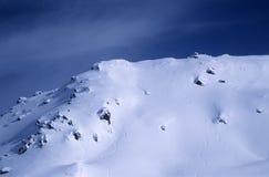 Pico de montaña fotografía de archivo libre de regalías