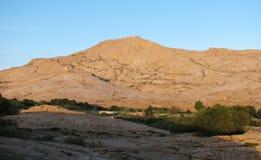Pico de montaña. Declinación. Imagen de archivo libre de regalías